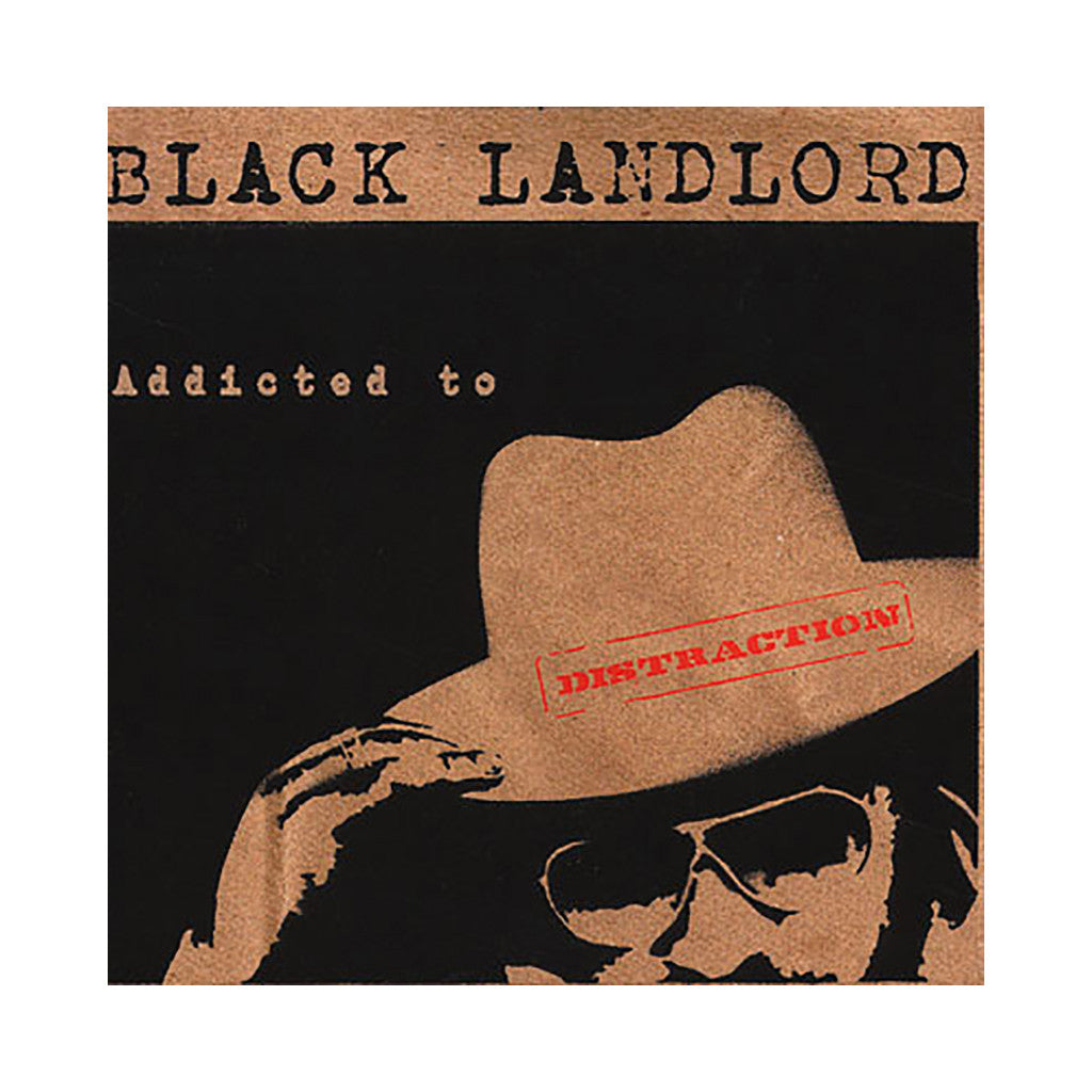 Black Landlord - 'Addicted To Distraction' [CD]