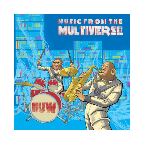 "[""HUW - 'Music From The Multiverse' [(Black) Vinyl LP]""]"