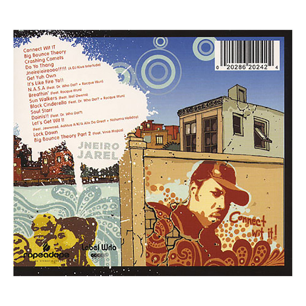 <!--2005110816-->Jneiro Jarel - 'Three Piece Puzzle' [CD]