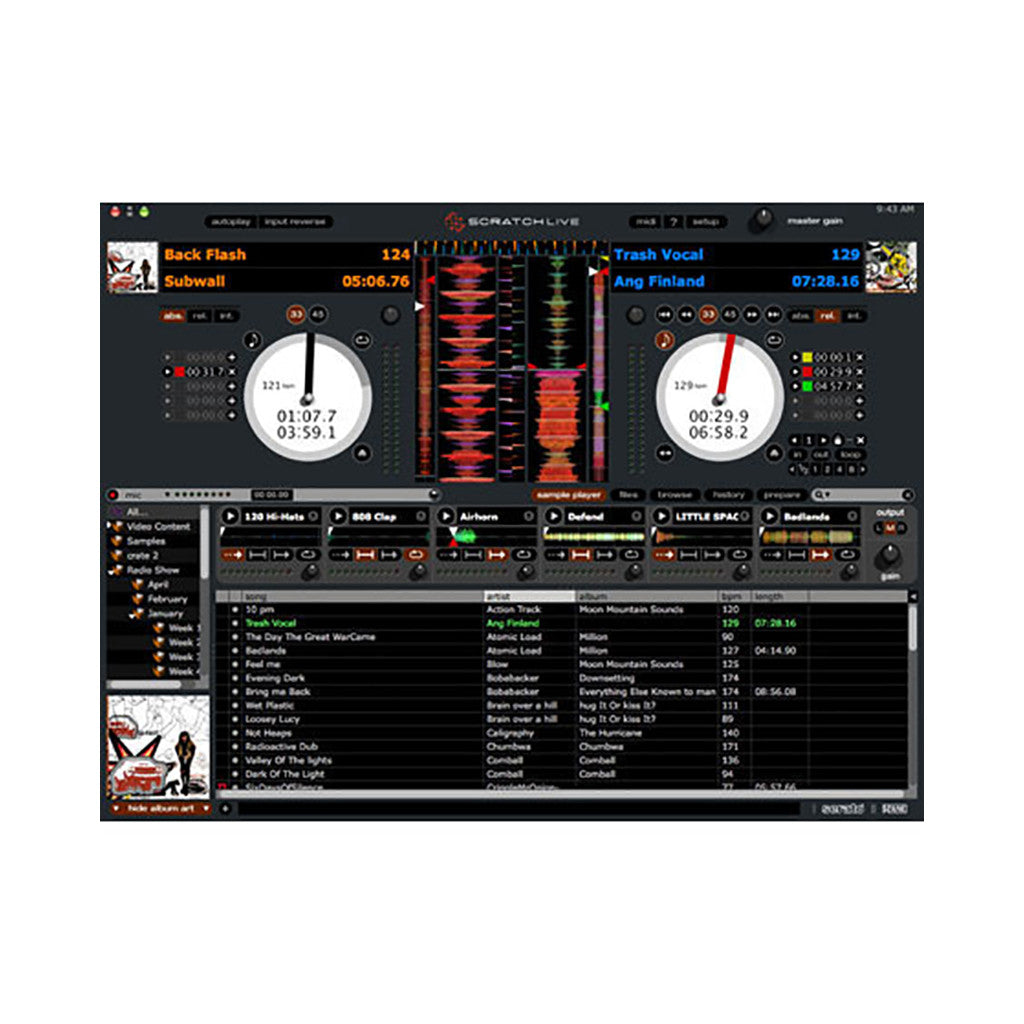 <!--019000101001555-->Rane Serato Scratch LIVE - 'Sixty-Eight' [Mixer]