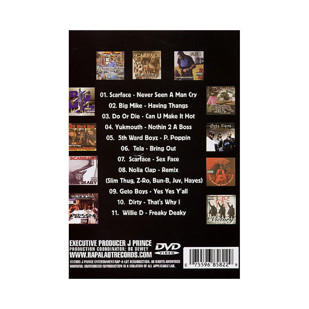 <!--120051115006133-->Rap-A-Lot Records - 'Rap-A-Lot 4 Life: Greatest Hits Vol. 2' [DVD]