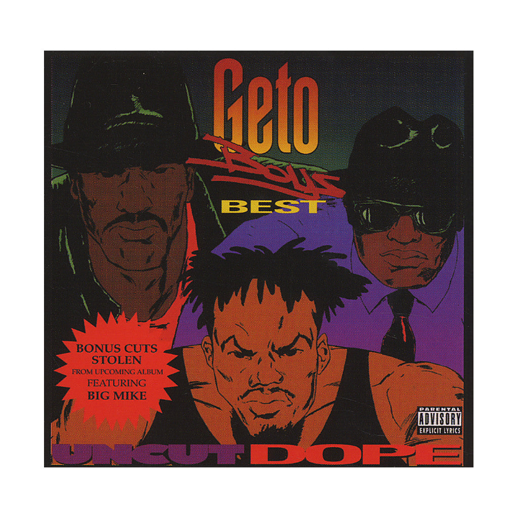 <!--119920101003294-->Geto Boys - 'Uncut Dope (Best Of)' [CD]