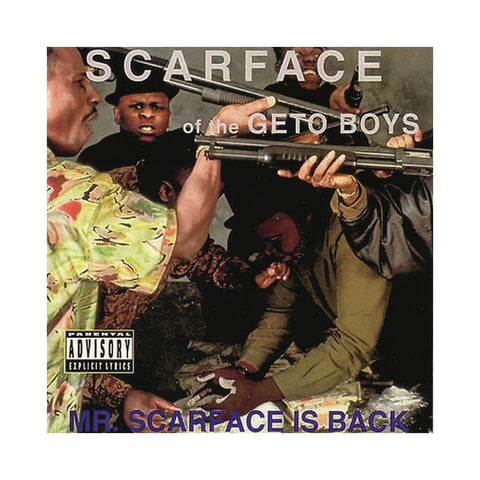 Scarface - 'Mr. Scarface Is Back' [(Black) Vinyl LP]