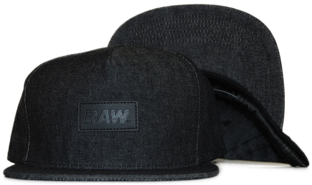 <!--020111122038471-->RAW x Charlie Crowell - 'Charlie Crowell Denim' [(Black) Snap Back Hat]