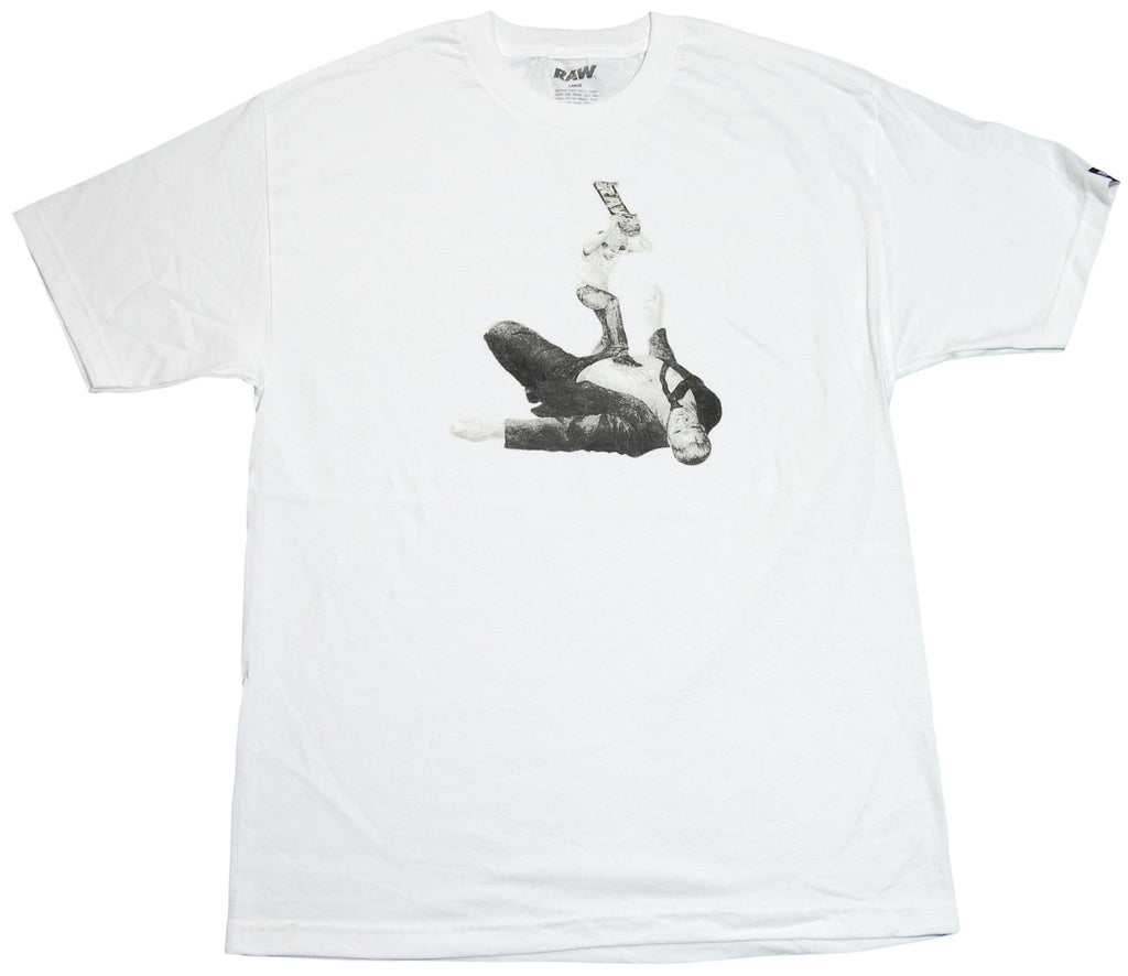 RAW x Charlie Crowell - 'David And Goliath' [(White) T-Shirt]