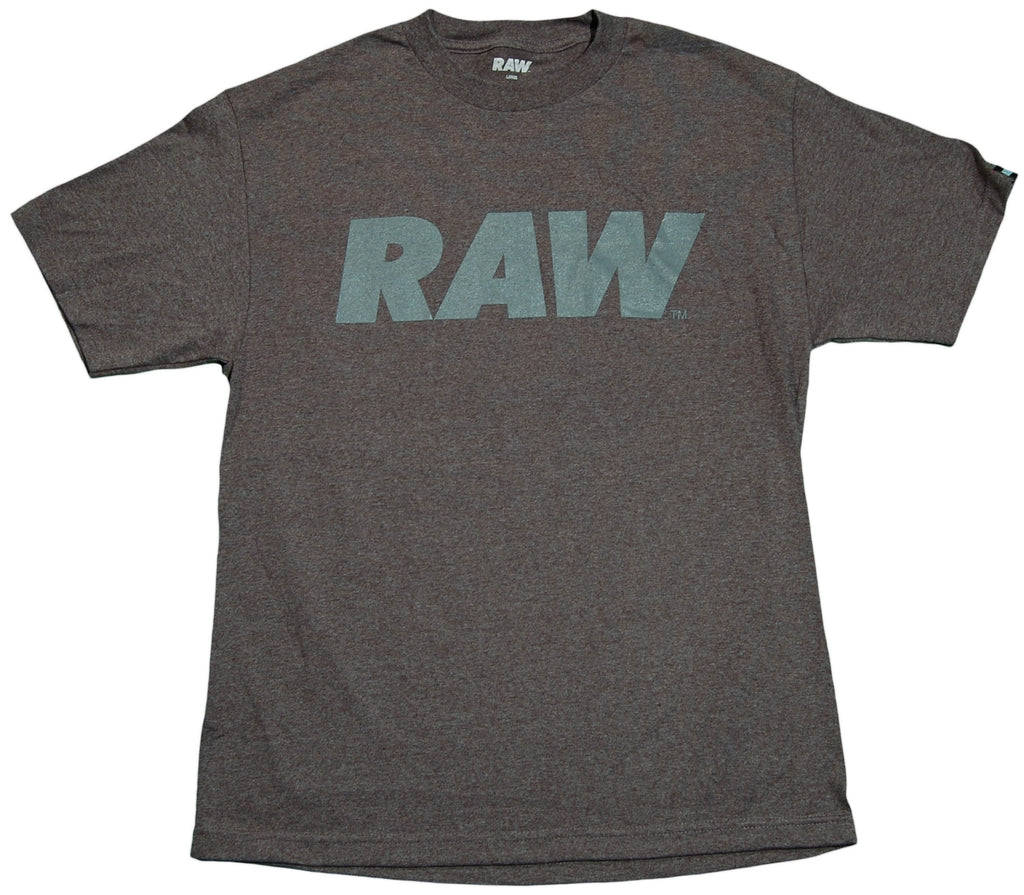 RAW - 'Gray Logo' [(Dark Gray) T-Shirt]
