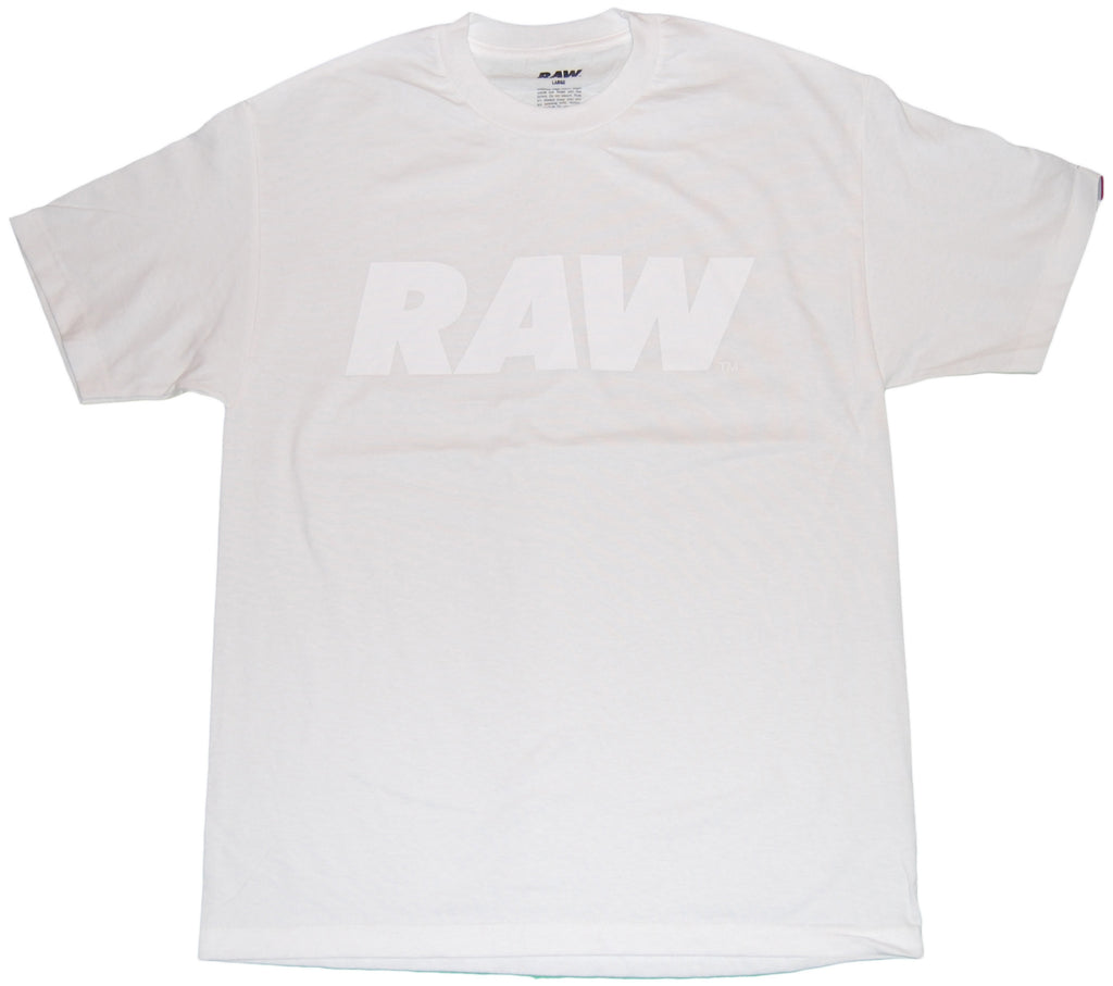 <!--2011083016-->RAW - 'White Logo' [(White) T-Shirt]