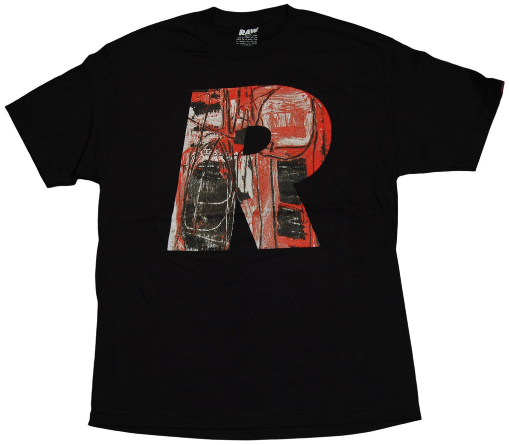 RAW x Matt Tanner - 'Big R' [(Black) T-Shirt]
