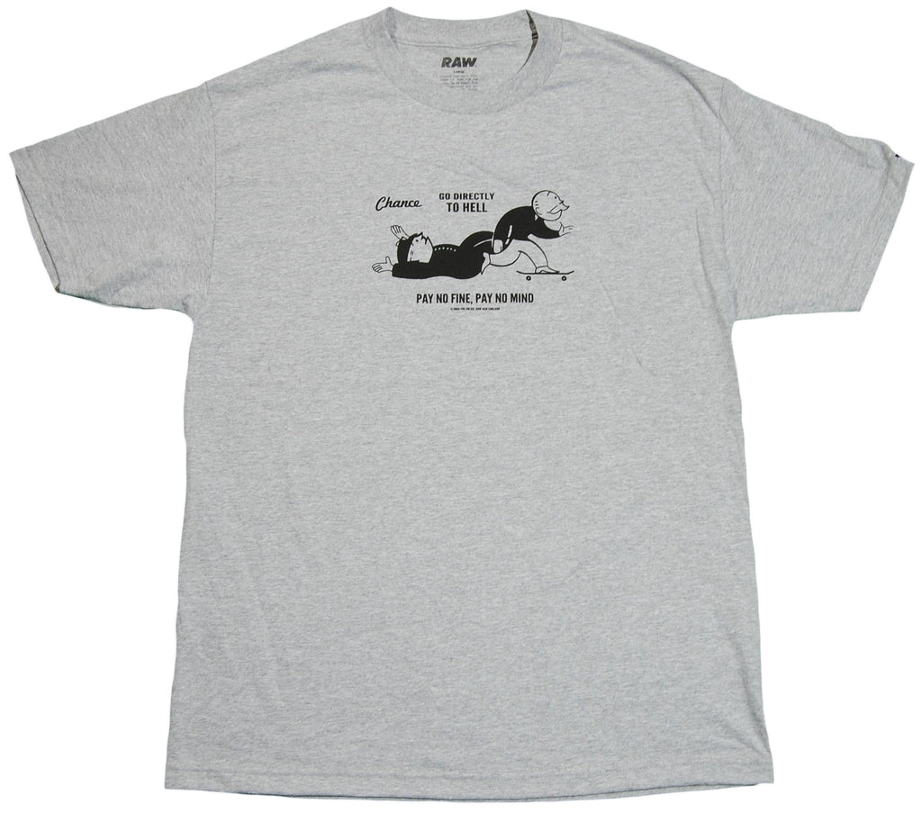 <!--2011112202-->RAW x Tim McAuliffe - 'Chance' [(Gray) T-Shirt]