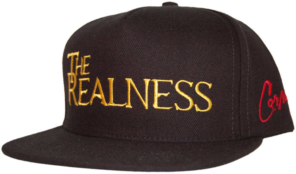 RAW x Cormega - 'The Realness' [(Black) Snap Back Hat]