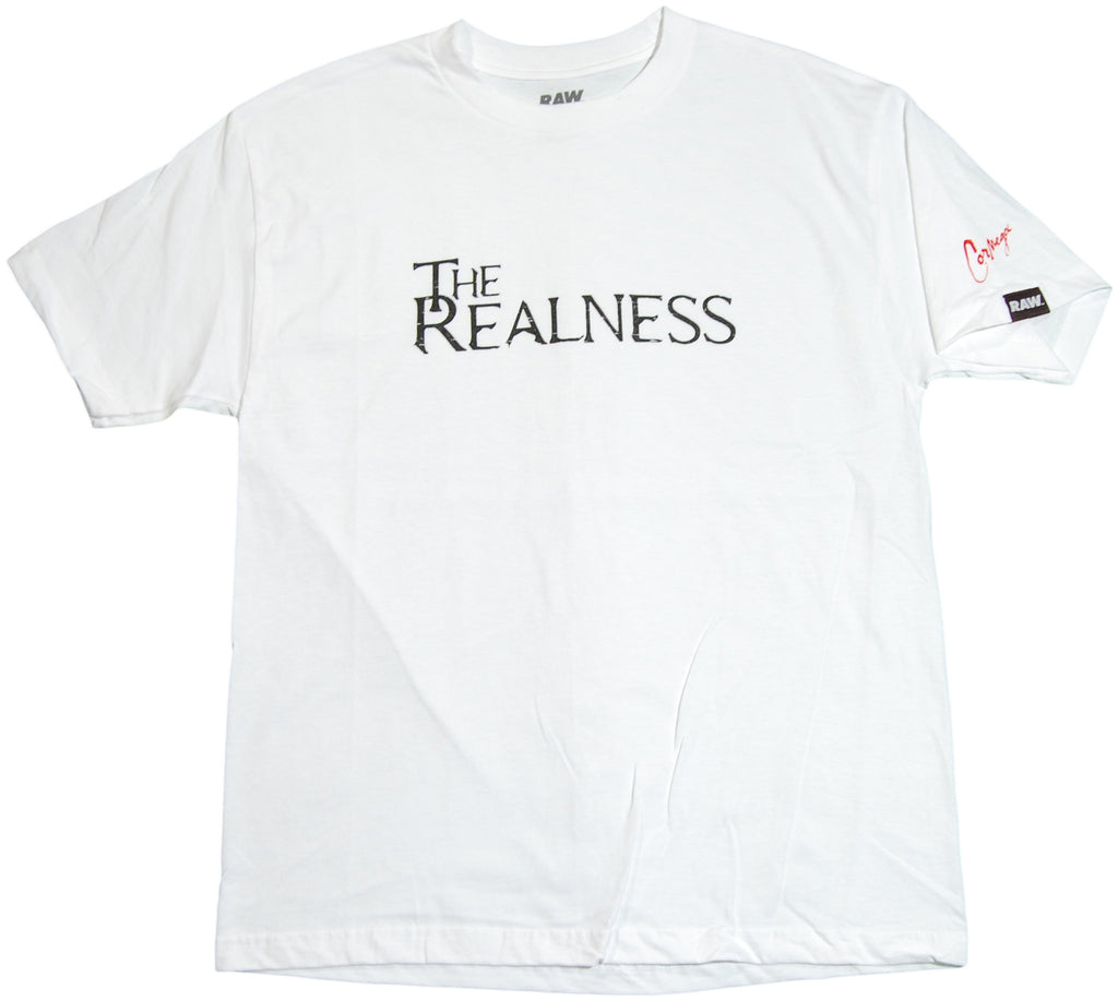 <!--2011061421-->RAW x Cormega - 'The Realness' [(White) T-Shirt]