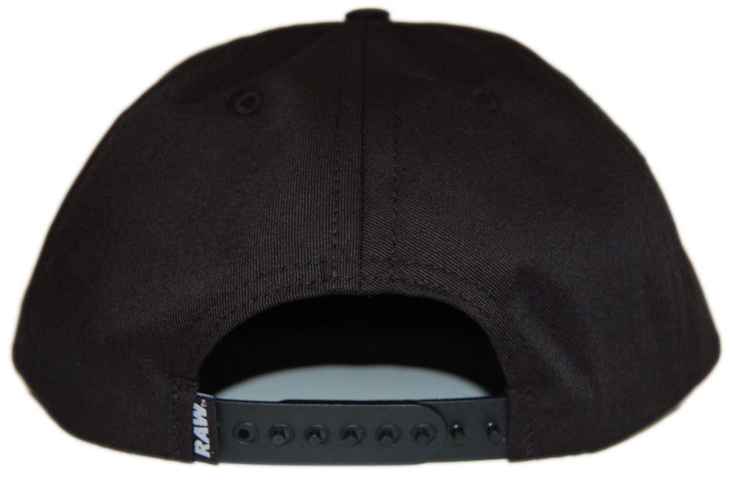 RAW - 'Grandison Taber' [(Black) Snap Back Hat]