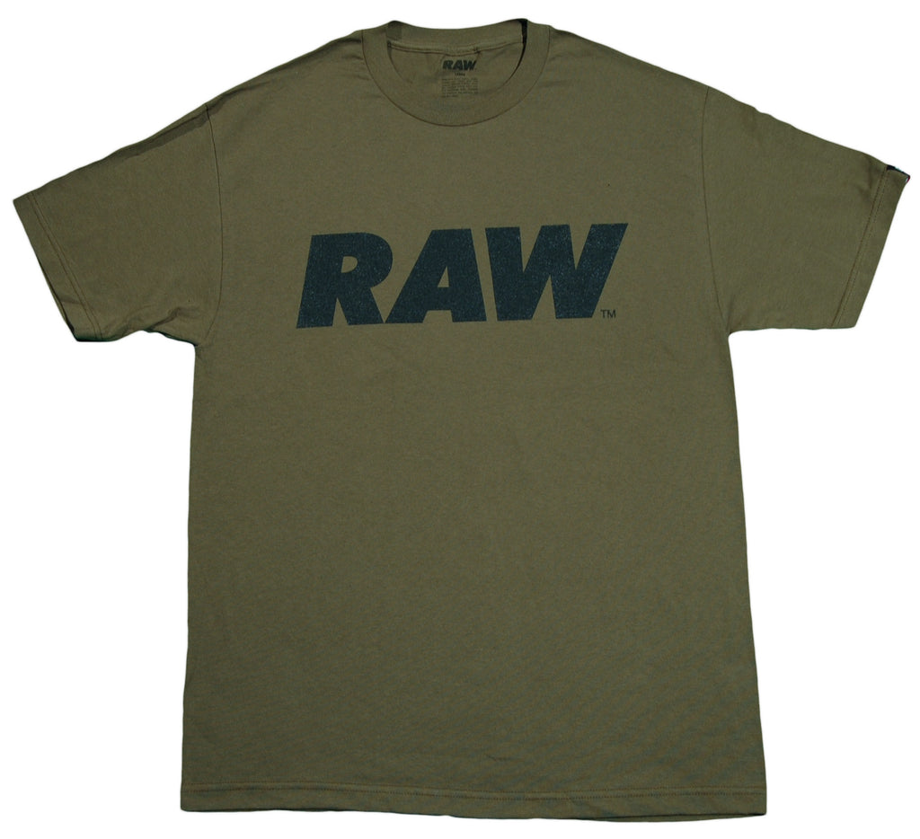 <!--2012061233-->RAW - 'Logo' [(Dark Green) T-Shirt]
