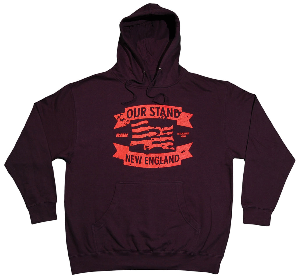 <!--2012061226-->RAW - 'Our Stand' [(Dark Blue) Hooded Sweatshirt]