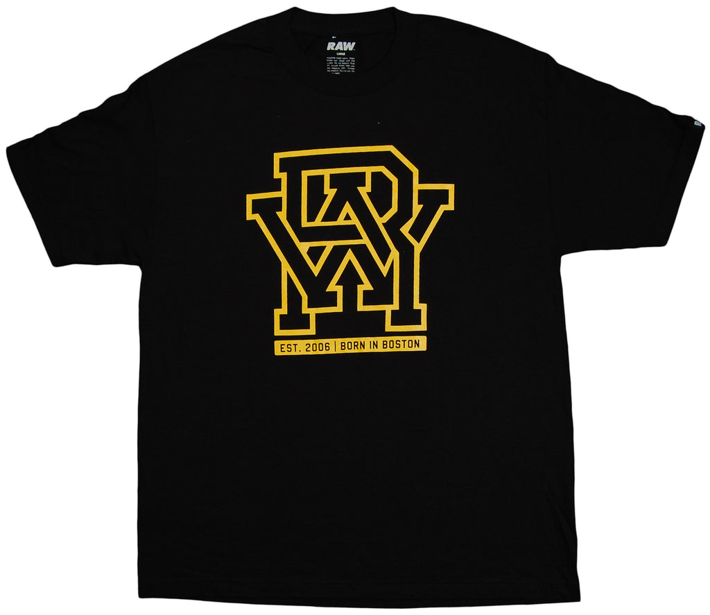 <!--2011092732-->RAW x Jonah Miller - 'Varsity Cipher' [(Black) T-Shirt]