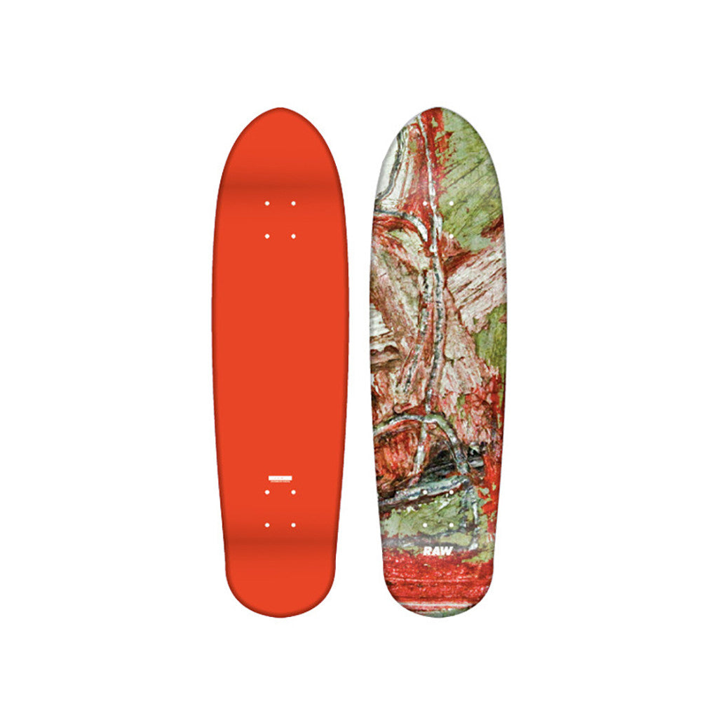 "<!--020110927037576-->RAW x Matt Tanner - 'Cruiser - 7 5/8""' [Skateboard Deck]"