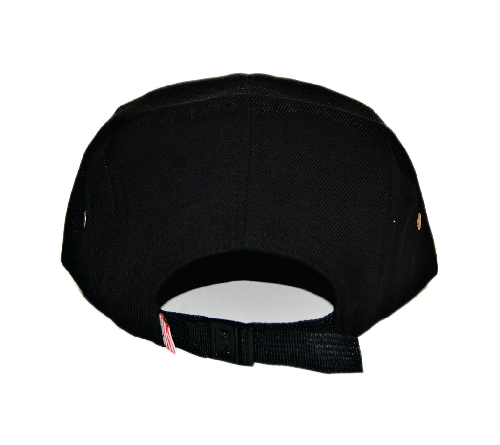 <!--020131022060489-->RAW - 'Our Stand Shield' [(Black) Five Panel Camper Hat]