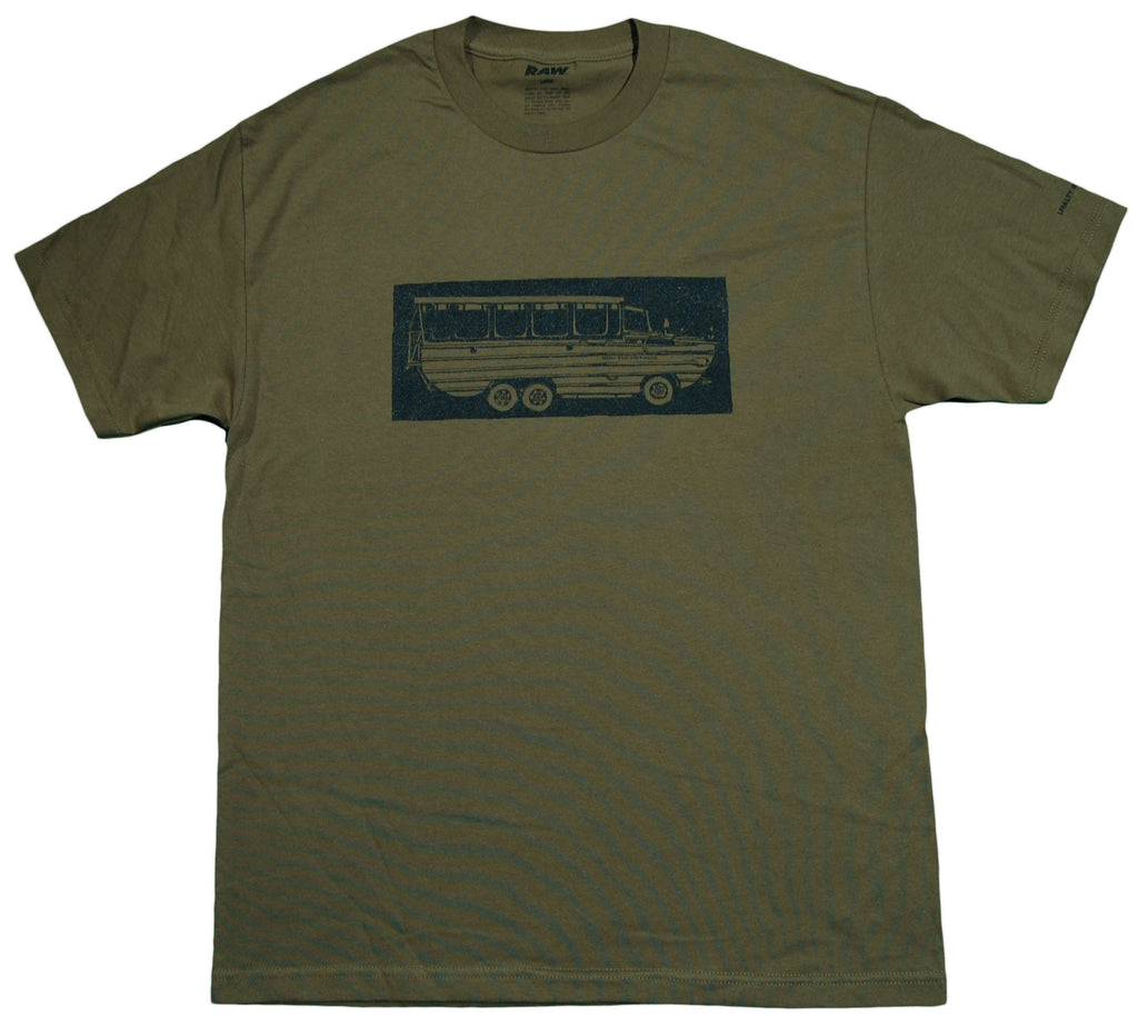 <!--2012100253-->RAW x Jonah Miller - 'DUKW One' [(Dark Green) T-Shirt]