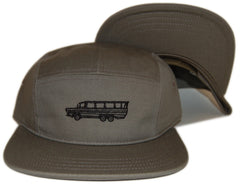 <!--020121002049933-->RAW - 'DUKW' [(Dark Green) Five Panel Camper Hat]