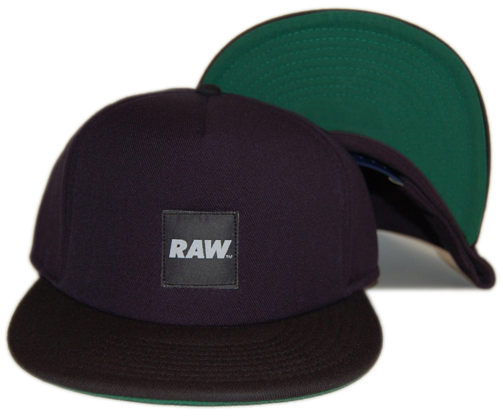 <!--020121002049931-->RAW - 'Foreman' [(Dark Blue) Snap Back Hat]
