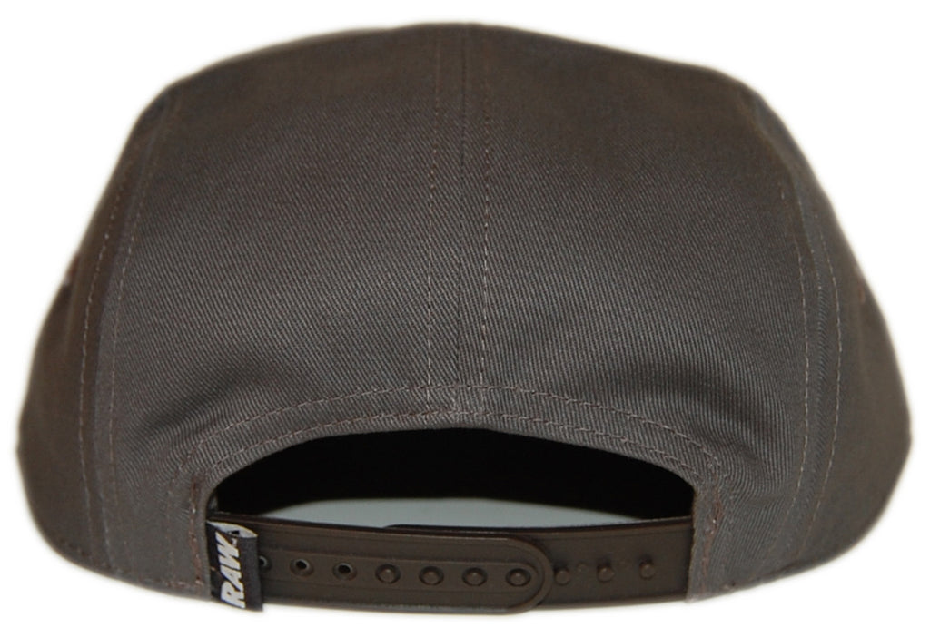 RAW - 'Freeport' [(Dark Gray) Five Panel Camper Hat]