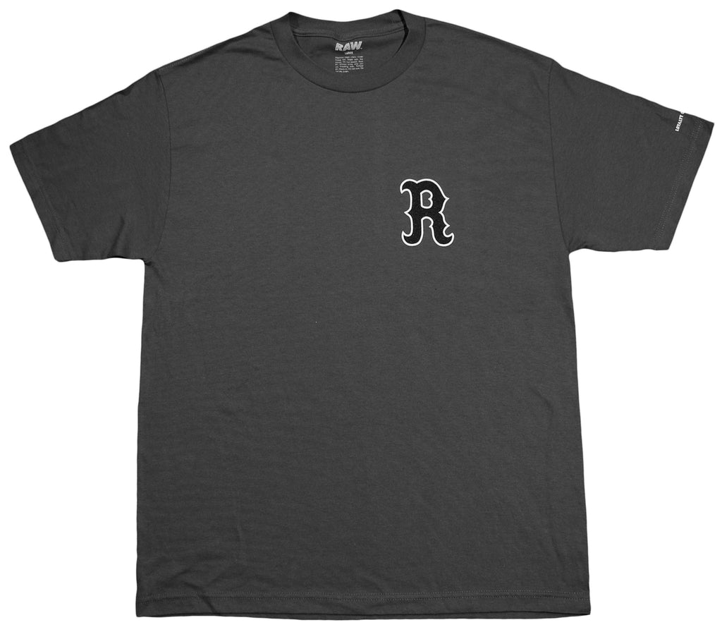 <!--2012100235-->RAW - 'HFA' [(Dark Gray) T-Shirt]