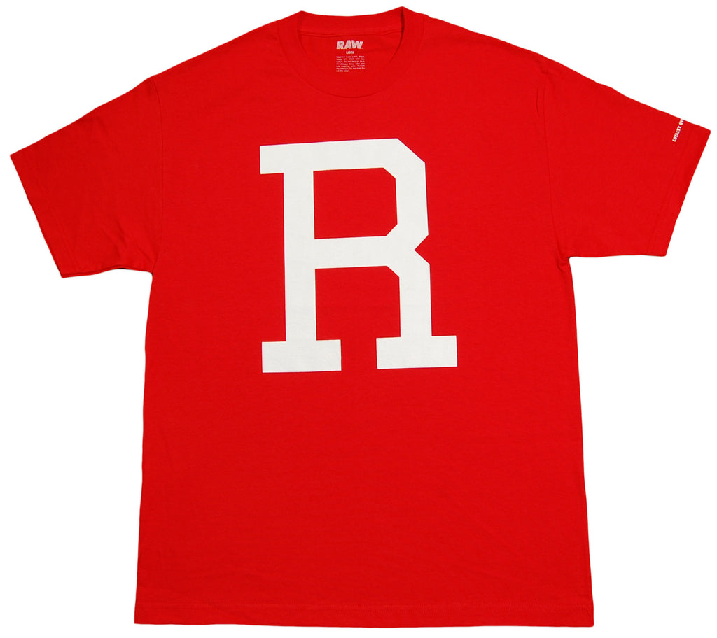 <!--2012100225-->RAW - 'Varsity R' [(Red) T-Shirt]