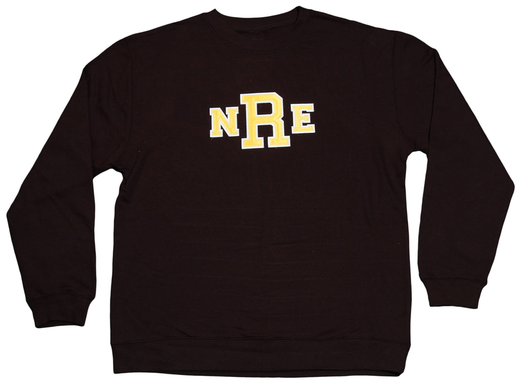 <!--2011121311-->RAW - 'RNE Applique' [(Black) Crewneck Sweatshirt]