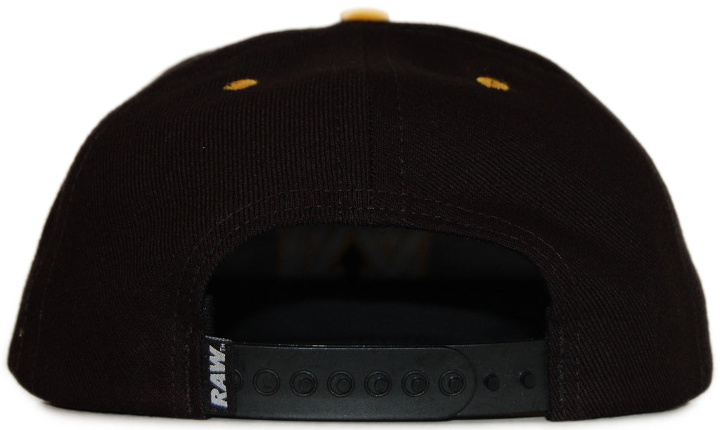 RAW x Jonah Miller - 'Varsity Cipher' [(Black) Snap Back Hat]