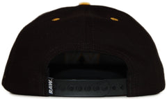 <!--020110927036077-->RAW x Jonah Miller - 'Varsity Cipher' [(Black) Snap Back Hat]