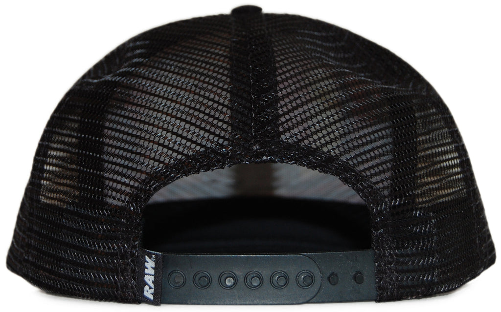 <!--020110927036063-->RAW x Matt Tanner - 'Matt Tanner Trucker' [(Black) Snap Back Hat]