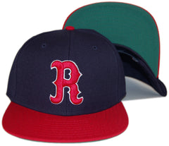 <!--020130219054119-->RAW - 'HFA Primary - Red' [(Dark Blue) Snap Back Hat]