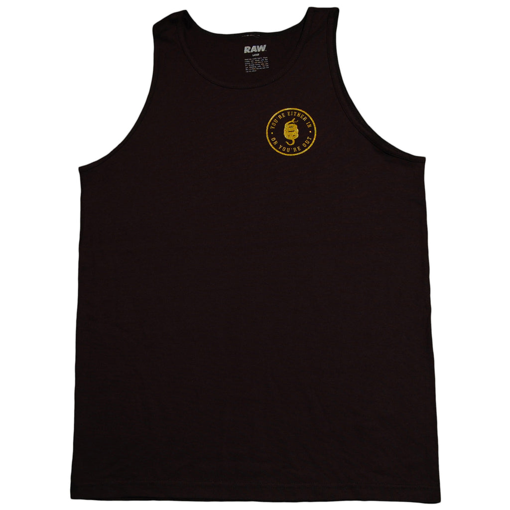 RAW - 'In Or Out' [(Black) Tank Top]