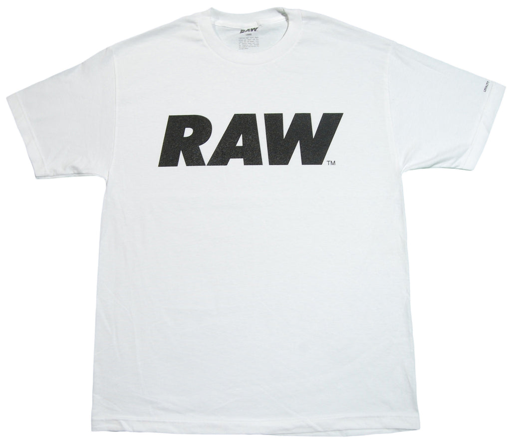<!--2013021905-->RAW - 'Logo - Black' [(White) T-Shirt]