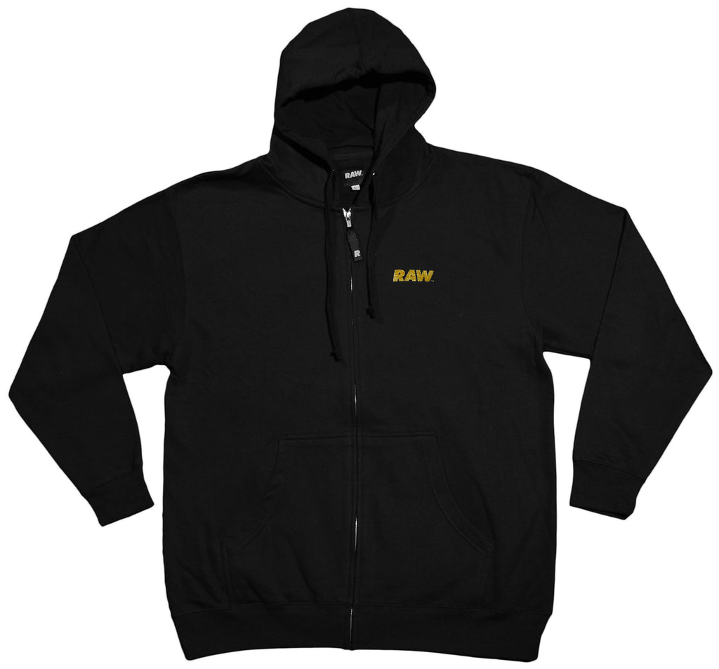<!--2013021956-->RAW - 'Loyalty Over Royalty - Gold Edition' [(Black) Hooded Sweatshirt]