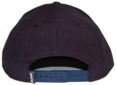 <!--020120814048101-->RAW - 'Varsity R' [(Dark Blue) Snap Back Hat]