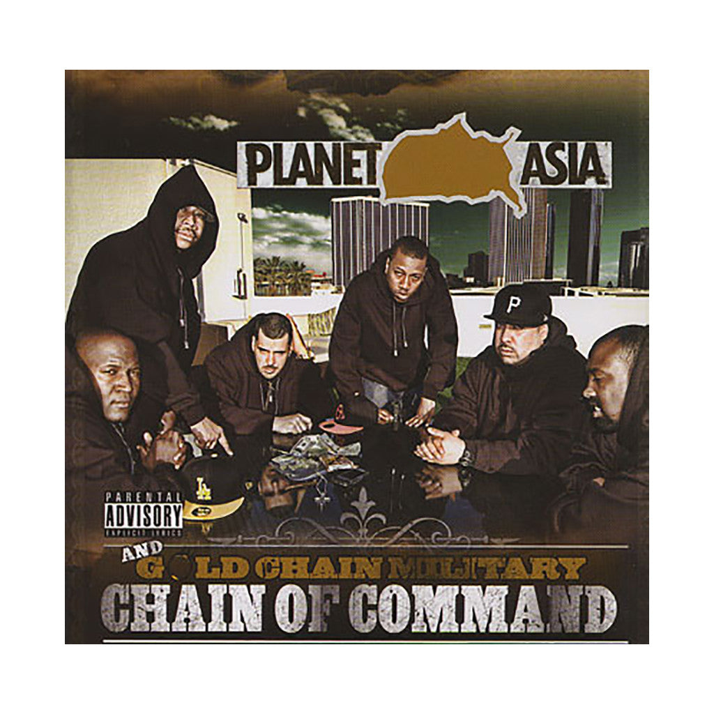 Planet Asia & Gold Chain Military - 'Chain Of Command' [CD]