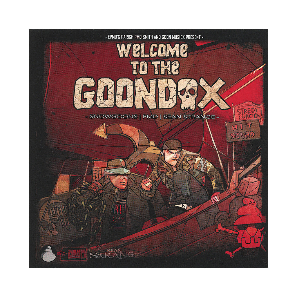 <!--2013040917-->The Goondox - 'Welcome To The Goondox' [CD]