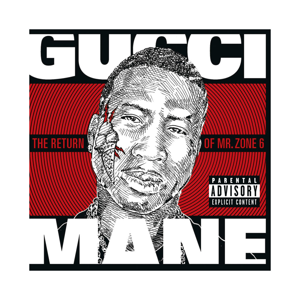Gucci Mane - 'The Return Of Mr. Zone 6' [CD]