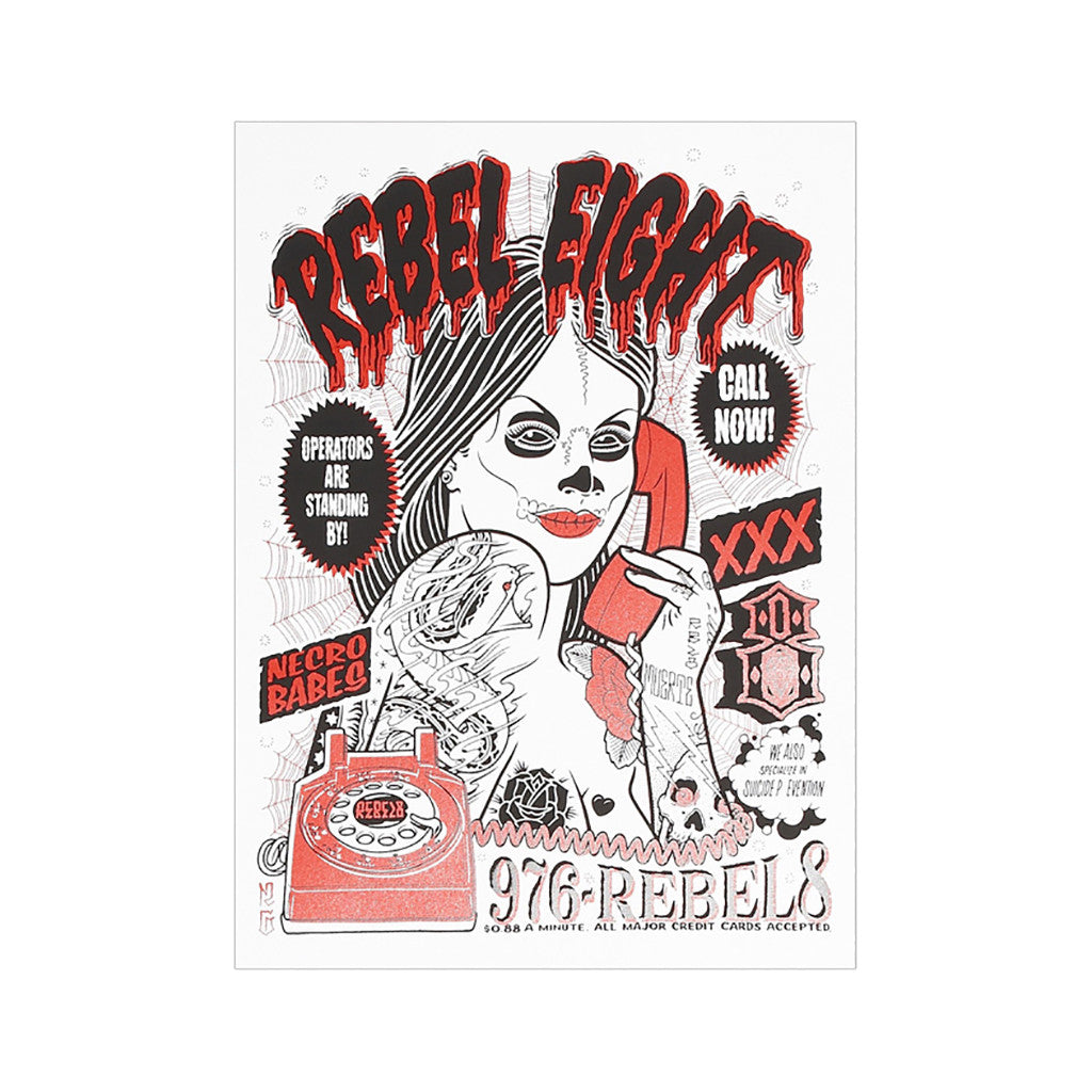 <!--020110301027848-->REBEL8 - 'Call Girl' [Posters & Prints]