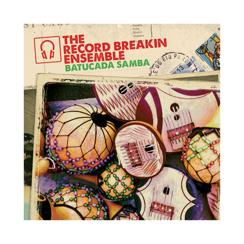 "Record Breakin' Ensemble - 'Batucada (Osage Remix)/ Pela (Sol Power All-Stars Remix)' [(Black) 7"""" Vinyl Single]"
