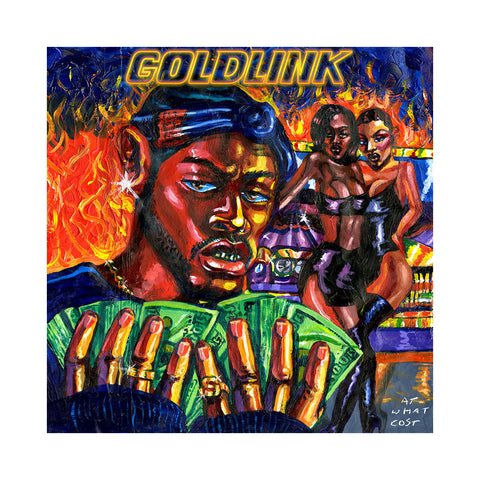 "[""Goldlink - 'At What Cost' [(Blue) Vinyl [2LP]]""]"