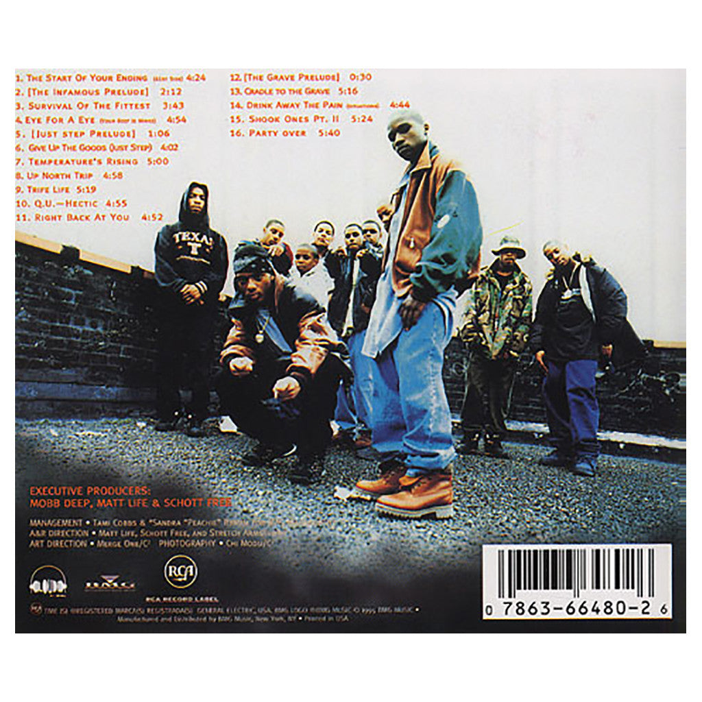 Mobb Deep - 'The Infamous...' [CD]