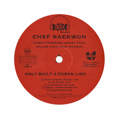 <!--1995080124-->Raekwon - 'Only Built 4 Cuban Linx...' [(Black) Vinyl [2LP]]
