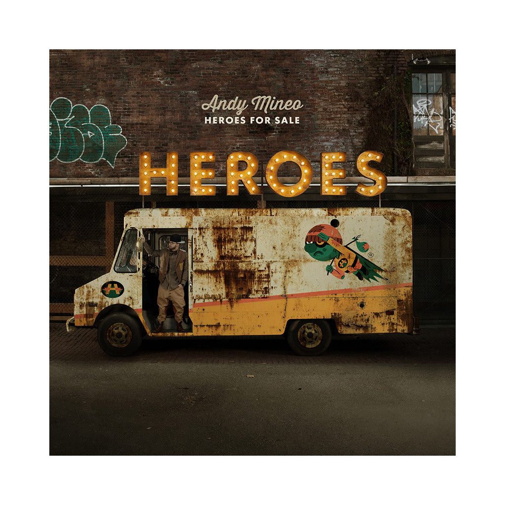 Andy Mineo - 'Heroes For Sale' [CD]