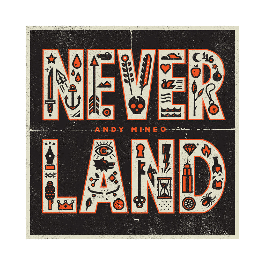 Andy Mineo - 'Never Land' [CD]