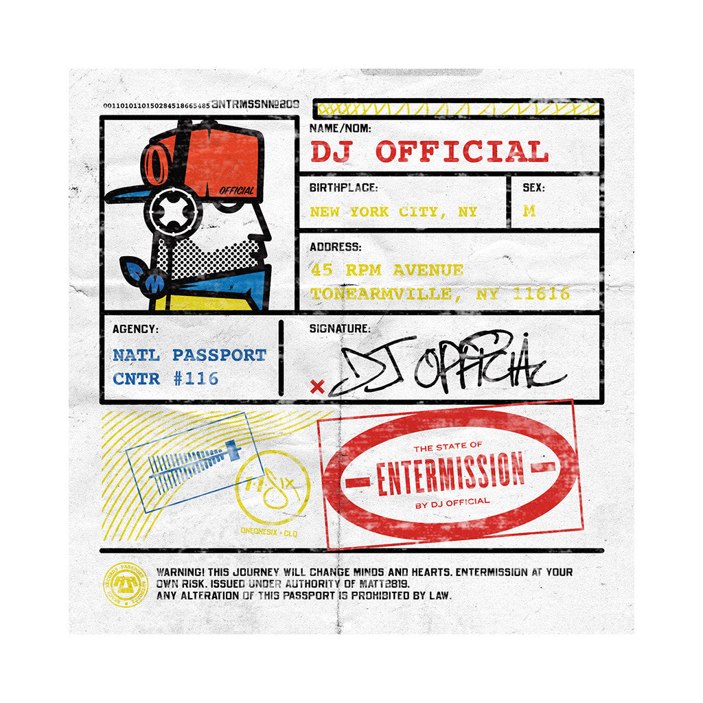 DJ Official - 'Entermission' [CD]