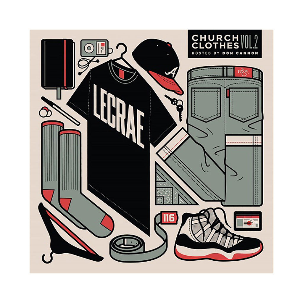 Lecrae (Hosted By: Don Cannon) - 'Church Clothes Vol. 2' [CD]