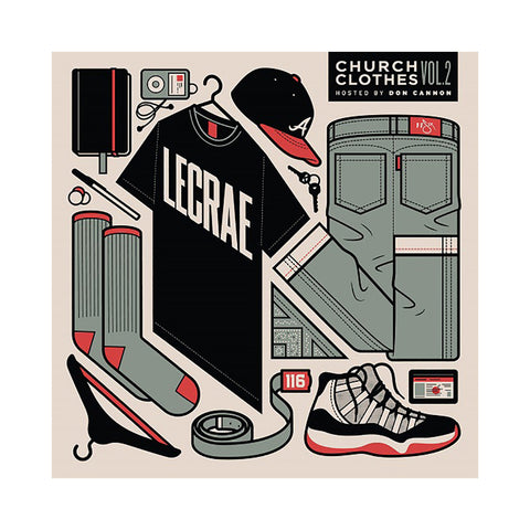 "[""Lecrae (Hosted By: Don Cannon) - 'Church Clothes Vol. 2' [CD]""]"