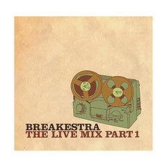 <!--020040101050153-->Breakestra - 'The Live Mix, Part 1' [CD]